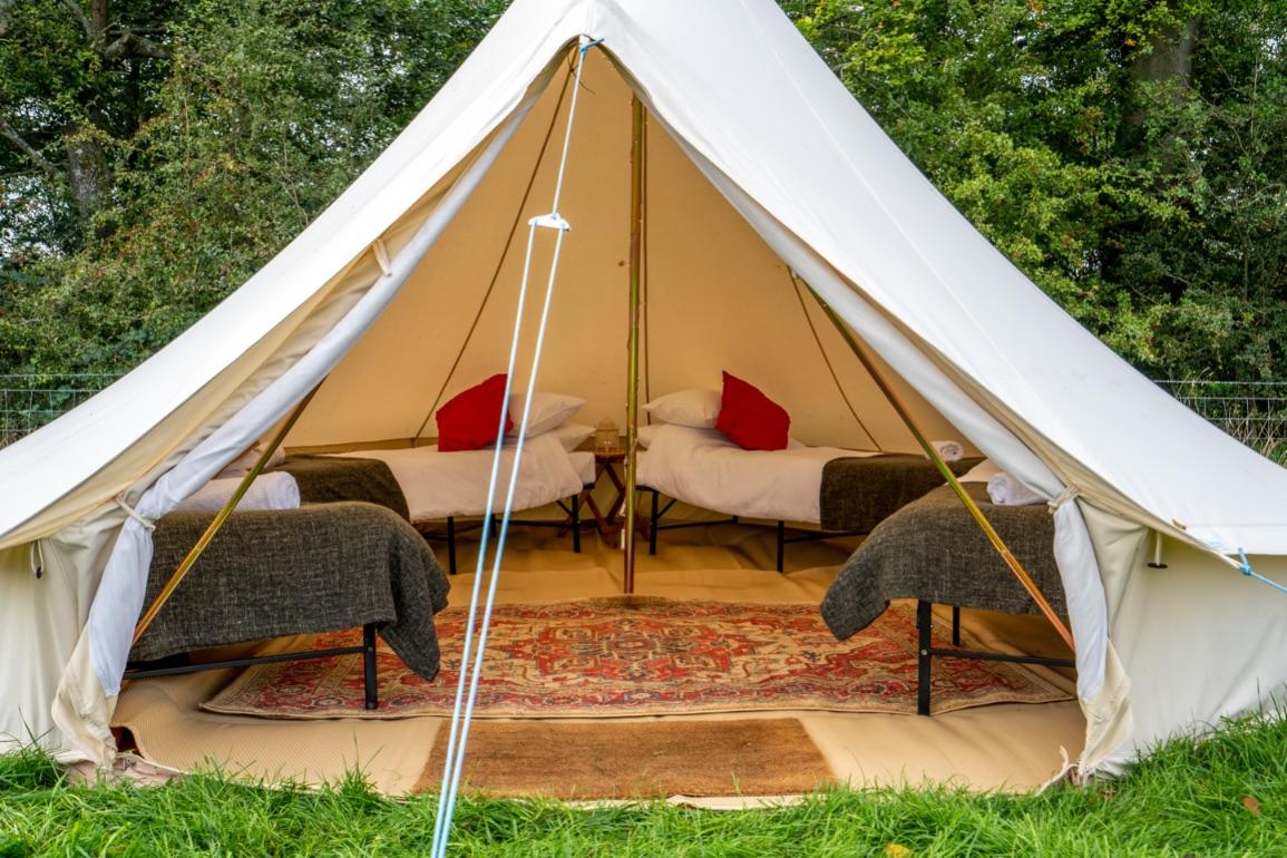 Camp Eden Boutique Camping Experience wordt gelanceerd in het Lake District